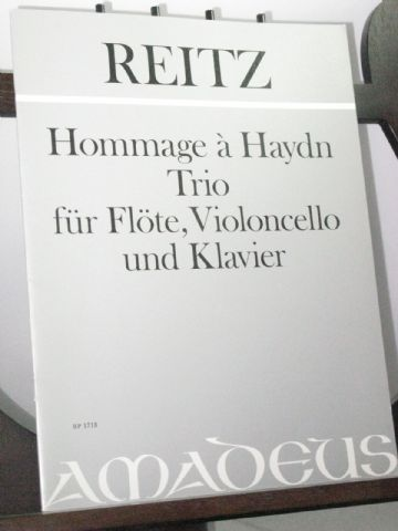 Reitz H - Hommage a Haydn - Trio for Flute, Violoncello & Piano